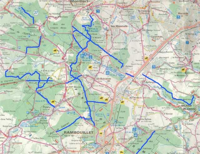 Ile De France Voies Cyclables Voies Vertes Pistes Cyclables Et Veloroutes En France